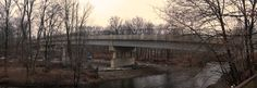 7th Street Bridge in Stroudsburg, PA This bridge has been completely redone.