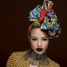 12 Women Who Love Traditional Kente Head Wraps Mixed With Modern Style - http://urbangyal.com/12-women-who-love-traditional-kente-head-wraps-mixed-with-modern-style/