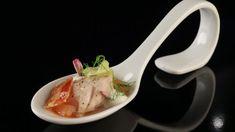 Geräucherte Makrele auf roh marinierten Tomaten und Babyfenchel - The Taste - Sat.1