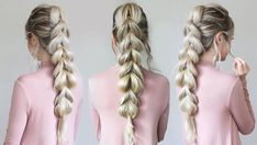 This pull through braid is amazing!!