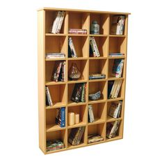 Buy Pigeon Hole CD and DVD Media Storage - Beech Effect at Argos. Thousands of products for same day delivery or fast store collection. Dvd Storage Shelves, Media Storage, Cubbies, Wooden Living Room Furniture, Home Furniture, Furniture Storage, Pigeon, Home Office Cabinets, Welcome To My House