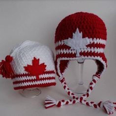 Canada Hat by LyssasLoops on Etsy