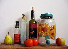 Make you own vinegar with leftover wine