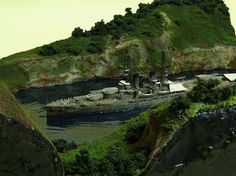 USS Texas 1/700 Scale Model