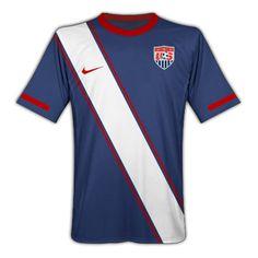 2010-11 USA Nike World Cup Away Shirt