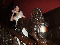 Nanna Kuckuck Präsentiert Exklusive Abendkleider Beim Vorempfang Für