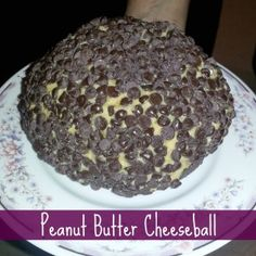 Peanut Butter Cheeseball Ingredients: -1 package (8 ounces) cream cheese, at room temperature -1 cup powdered sugar -3/4 cup creamy peanut butter (not all-natural) -3 tablespoons packed brown sugar -3/4 cup milk chocolate chips -Graham cracker sticks, teddy grahams, and/or apple slices for dipping Directions:     Beat cream cheese, powdered sugar, peanut butter and brown sugar in large mixer bowl until blended.    More directions....