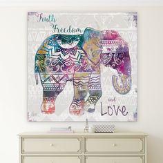 Boho Elephant Premium Gallery Wrapped Canvas Sizes Large - Elephant Canvas - Ideas of Elephant Canvas - Boho Elephant Premium Gallery Wrapped Canvas Sizes Large Price : Love Canvas, Canvas Wall Art, Canvas Prints, Art Prints, Canvas Ideas, Canvas Size, Elephant Canvas, Elephant Room, Mandala Coloring