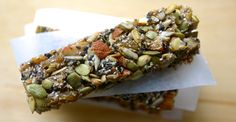 So crunchy and satisfying! #bars #cheap #recipes http://greatist.com/eat/diy-energy-protein-bar-recipes