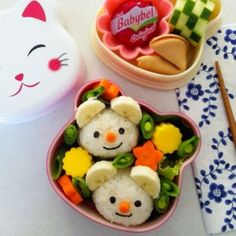 Cute bento lunches!