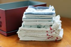 tips for how to stop using paper towels in the kitchen from @janemaynard