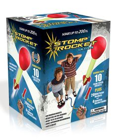Love this Ultra Stomp Rocket Combo Pack by Stomp Rocket on #zulily! #zulilyfinds