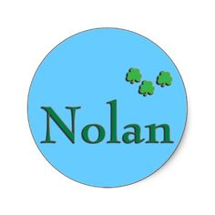 The name Nolan is a boy name. The name Nolan orginated as a Celtic name. In Celtic, the name Nolan means- Noble.. http://rlv.zcache.com/nolan_last_name_stickers-p217815918832438973z85xz_400.jpg