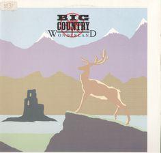 Big Country Wonderland Vinyl LP Record Album