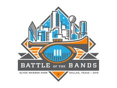 College Football Playoff - Battle of the Bands logo