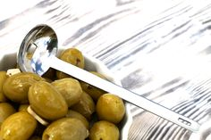 FOOD IMAGES for ekuchareczka.pl/ Zielone oliwki/Green olives