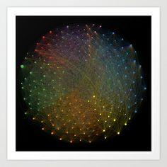 Twittersphere Art Print by Vincos - $17.68