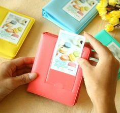Amazon.com: Fuji Instax Mini Book Album For instax mini7s 8 25 50s Film: Arts, Crafts & Sewing