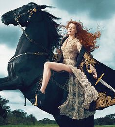 "nextlevelbussy: "" Florence Welch for Vogue """