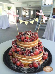 Baking moments: Naked svadobné torty :)