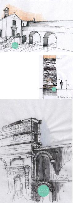 Roma drawing dibujos a mano alzada esquema urban sketching by @paukf architect paula teruel architecture arquitectura cuadernos romanos