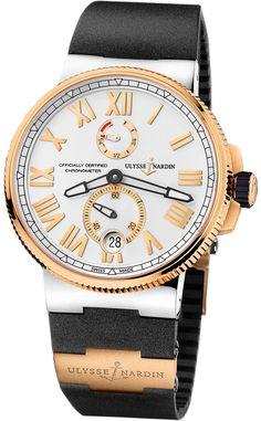 Ulysse Nardin Marine Chronometer Manufacture 1185-122-3/41