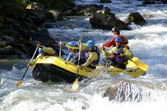 Il fiume Noce, in val di Sole, è la location perfetta per gli sport acquatici fluviali. #activitiesinitaly