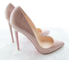 "Christian Louboutin Nude Stiletto. No real ""need"" for these - but I want them to a pretty sick degree."