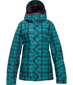 Save on Burton TWC Baby Cakes Snowboard Jacket - Women's. This Burton TWC Baby Cakes Snowboard Jacket had women in mind when it designed and crafte. Burton Snowboard Jackets, Womens Snowboard Jacket, Snowboarding Style, Snowboarding Clothes, Ski Sport, Burton Snowboards, Plaid Fashion, Jackets For Women, Baby Cakes