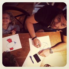 Jai Courtney with his godchildren Jesse & Indi Whitfield (Andy Whitfield's kids) ♥