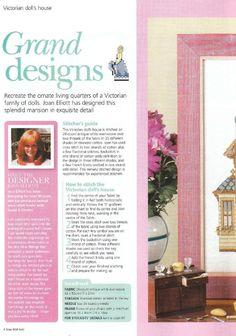 Grand Design: Dollhouse Cutaway (1 of ) | Gallery.ru |Cuadros  54 | Orlanda