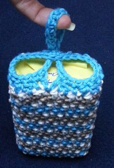 """New Cheap Bags. The location where building and construction meets style, beaded crochet is the act of using beads to decorate crocheted products. """"Crochet"""" is derived fro Baby Knitting Patterns, Crochet Blanket Patterns, Crochet Pony, Bead Crochet, Moda Emo, Black And White Baby, Little Bag, My Face Book, Macrame Bag"""