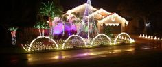 Holiday décor to welcome home the South Florida buyer!