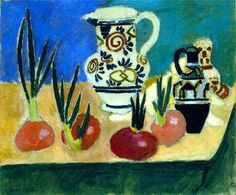 The Red Onions, 1906 Henri Matisse
