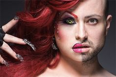 Half drag photography series by Leland Bobbe