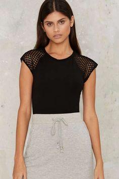 Glamorous Cassandra Mesh Bodysuit - Bodysuits | Blouses | Bodysuits