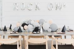 Rock On birthday party | Wedding & Party Ideas | 100 Layer Cake