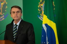 """Bolsonaro is playing """"the same game as his clone -Trump"""" in that he """"fabricates any situation by misrepresentation of the facts""""! In this case Bolsonaro encouraged the uncontrolled burning of the Amazon then when investment houses cut his funding he sent in token forces to quell the fires BUT they were secretly encouraged to light more !!!!!! A turd of the Trump variety indeed !!"""