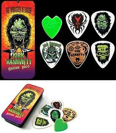 METALLICA - Guitar Pick Collection With Tin Kirk Hammett Dunlop Licensed ...I have this set.