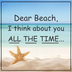 Does anyone else have beach on the brain ? I do! #BeachTravel