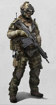 future soldier #concept #art #character #creative #conceptart #reference #inspiration #draw #sketch #2d #best #great #speedpainting #digital #painting