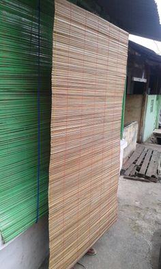 Bamboo blindvan @IDR 300.000/sheets size 2x2metres