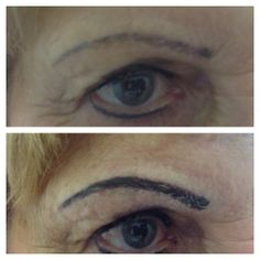 Eyebrow Shading - by Natalie #cosmetictattoo #permanentmakeup #beauty #goldcoast #salon