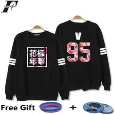 We love it and we know you also love it as well LUCKYFRIDAYF kpop Bangtan Boys Kpop BTS Women Hoodies Sweatshirts Letter Printed in J-HOPE 94 and SUGA 93 Women xxxl Hoodies just only $13.99 with free shipping worldwide  #womanhoodiessweatshirts Plese click on picture to see our special price for you
