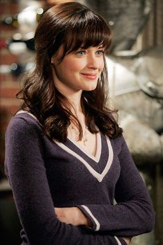 Rory Gilmore, Gilmore Girls%0AShe loved books, aspired to be Christiane Amanpour, and when we last saw her, she had just graduated from Yale and was setting off on the campaign trail with a senator named Barack Obama.