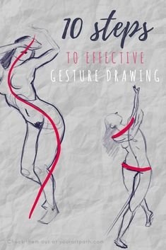 10 Steps To Effective Gesture Drawing