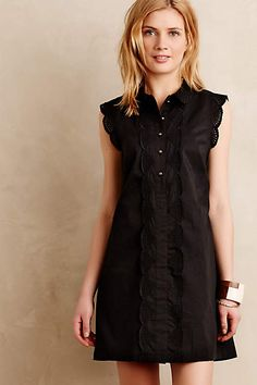 """Anthropologie Trinette Shirtdress New with tags. As seen on the """"new girl"""" Anthropologie Dresses Petite Dresses, Cute Dresses, Looks Style, Style Me, Dress Skirt, Shirt Dress, Casual Skirts, Passion For Fashion, Short Sleeve Dresses"""