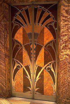 William van Allen. Chrysler Building . Elevator doors. New York. 1928~1931.