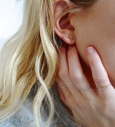 Those earrings