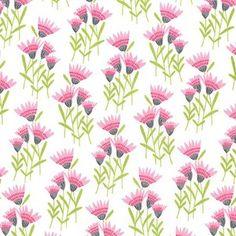 Michael Miller House Designer - Happy Birds - .Cornflower in Pink
